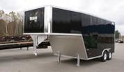 Mission Aluminum 8-1/2' X 28' 10K Tandem Axle Gooseneck Auto #MEG8.5X28