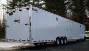 Mission Aluminum 8-1/2' X 42' 15.6K Triple Axle Gooseneck Trailer #MEG8.5X42
