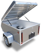 Mission Aluminum 3' X 4' 1K All Purpose Motorcycle Trailer #MMT3X4