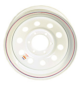 Dexstar 16 x 6 White Mod Wheel 655 #17-255-7