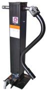 RAM Heavy Duty Direct Weld Dropleg Jack with Spring Return 12K Front Pin/Side Wind #TJD-12000SP-F2