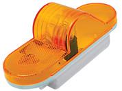 "Kaper II 6"" Oval Incandescent Turn Lamp Amber Lens #1A-S-129A"