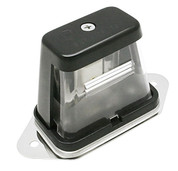 Kaper II Bracket Mount, Black Incandescent License Plate Light #1M-B100-B