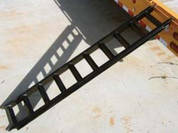 "Tex Trail 7'3"" X 15"" X 3"" Equipment Trailer Ramps #7180007"