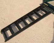 "Tex Trail 5' X 15"" X 3"" Equipment Trailer Ramps #7180043"