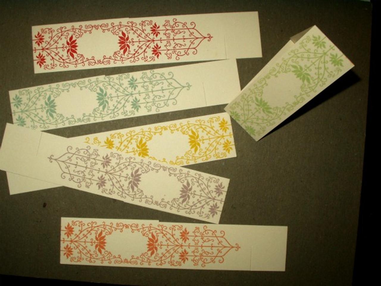 Edwardian 1920 Ephemera Paper Place Cards Napkin Rings Unused Package