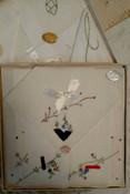 5 Vintage Boxed Handkerchief Sets Swiss Linen Embroidery Applique