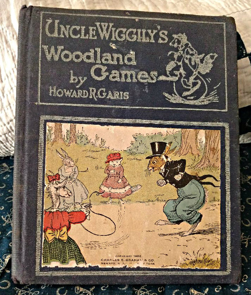Uncle Wiggily Woodland Games Book Howard Garis  1922