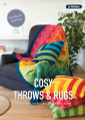 Cosy Throws & Rugs - Patons Panda Cleckheaton Knitting  Pattern (360) cover