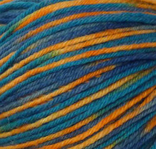 Lima Colors Yarn  - Teal Orange Multi (42144)