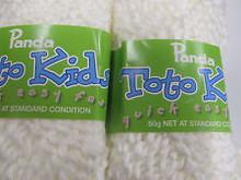 PANDA TOTO KIDS 50 GRAMS  WHITE