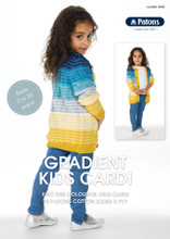 Gradient Kids Cardi - Patons Knitting Pattern (0040) front page
