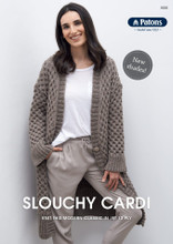 Slouchy Cardi - Cleckheaton Knitting Pattern (0030)