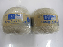 Birch Crochet Cotton Yarn - Cream