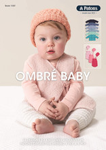 Ombre Baby - Patons Knitting Pattern (1107 ) cover