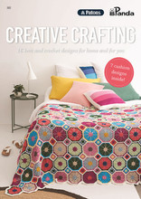 Creative Family & Home - Patons Panda Knitting Pattern (362) cover