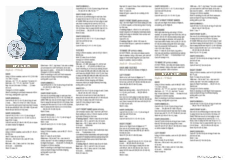 1bbd9772b4006  18 Men s Classic Knits - Patons Panda Cleckheaton Knitting Pattern ...