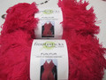 Fiddlesticks Fun Fur Yarn - Hot Pink