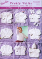 Peter Pan DK Knitting Pattern - Pretty White 2/3/4 Ply - Premature 31-56cm (289)