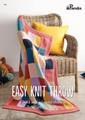 Easy Knit Throw - Panda Knitting Pattern (604)