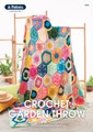Crochet Garden Throw - Patons Crochet Pattern (0046)