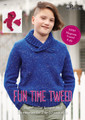 Fun Time Tweed - Panda Knitting Pattern (815)