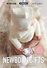 Newborn Gifts - Patons Heirloom Cleckheaton Knitting Pattern (368)