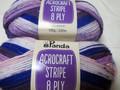 Panda Acrocraft Stripe Yarn - (1024)