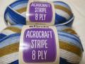 Panda Acrocraft Stripe Yarn - (1023)