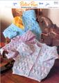 Peter Pan Knitting Pattern - Kids Jacket (P842)