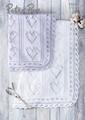Peter Pan Knitting Pattern - Baby Blanket (P1308)