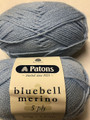 Patons Bluebell Merino 5 Ply Wool - Pale Blue (4375)