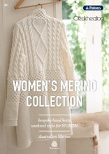 Women's Merino Collection - Patons/Cleckheaton Knitting Pattern (303)