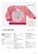 Patons Pop Tops - Knitting Pattern (1103)