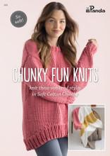 Chunky Fun Knits - Panda Knitting Pattern (813)