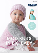 Mod Knits in Big Baby - Patons Knitting  Pattern (1105) cover