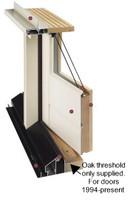 Oak Replacement Threshold for swing door 1994 to present