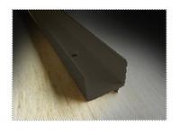 weatherstrip: quantity of (3) 8ft pieces of Park-Vue bronze  screen track VISCH2PP8