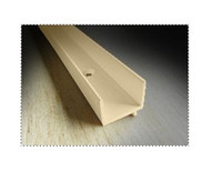 weatherstrip: quantity of (3) 8ft pieces of Park-Vue tan screen track VISC3PP