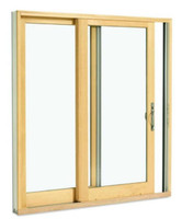 2- PANEL 8'0'' ROUGH OPENING HEIGHT (FRENCH STYLE) SLIDING DOOR / LOW-E 270 GLASS