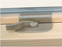 Sash lock (recessed)  with keeper and screws for Lincoln window for units manufactured spring 2004 to present
