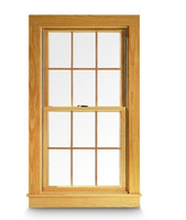 "Windsor set (comes with top and bottom) Pinnacle Double Hung ""RECTANGULAR STYLE"" wood grilles"