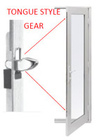 Park-Vue SWHWMG01  swing door multi point replacement tongue  gear for 37'' handle height for doors pre  2008