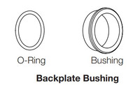 Hoppe Buna  back plate Bushing & O-rings Comes with qty (1) Bushing and qty (2) O-rings
