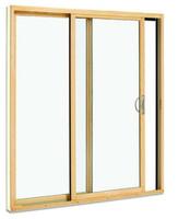 "Semco R6068 2-PANEL SLIDING DOOR WITH SCREEN & LOW-E 270 GLASS: ACTUAL DOOR SIZE IS 71""WIDE X 80'' TALL"