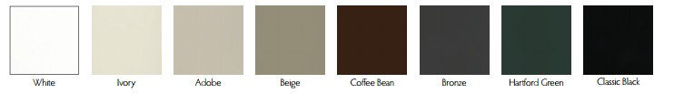 Clad color choices