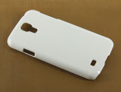 White -- Hard Plastic Phone Case for Samsung Galaxy S4  --- by lovekittybling