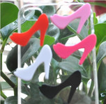 5pcs High Heel Shoes Cute Japanese Kawaii Flat Back Resin Cabochons  --   lovekitty