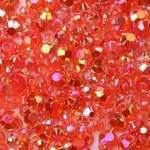 Red --- 500 pcs -- 3mm  AB Jelly Resin Flatback Rhinestones  --- lovekitty