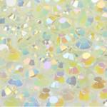 Green --- 500 pcs -- 3mm  AB Jelly Resin Flatback Rhinestones  --- lovekitty